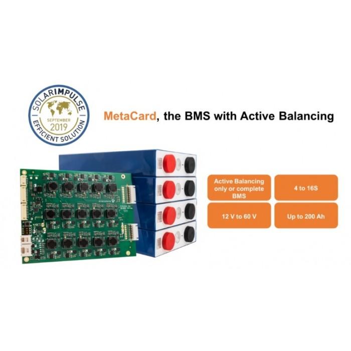 BMS avec équilibrage Active